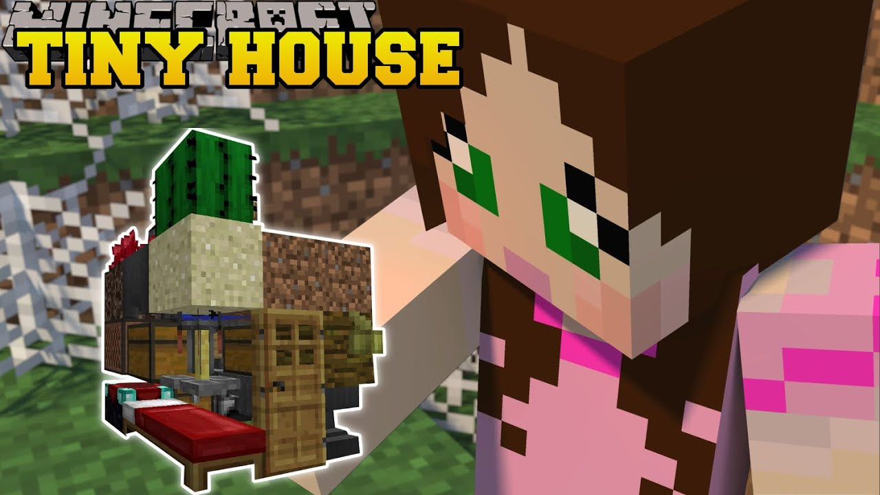 Minecraft: TINY HOUSES (MINI HOUSES, SLIDES, SWINGS, & SLIDES!) Custom Command