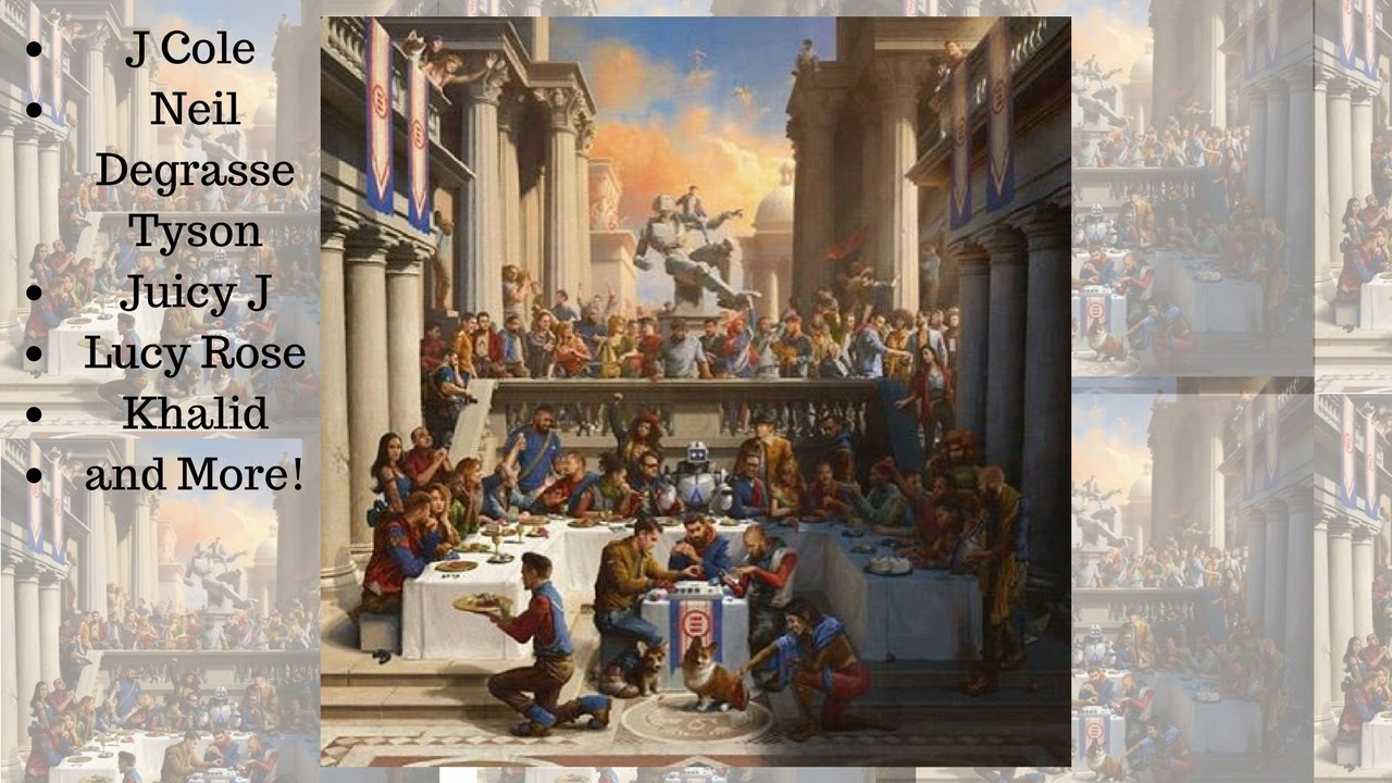 Logic Quot Everybody Quot Artists Featured In The Album Cover J