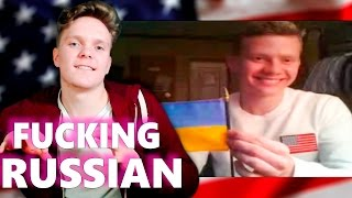 АМЕРИКАНЦЫ НЕ ВЫДЕРЖАЛИ ОБЩЕНИЯ С РУССКИМ (18+)