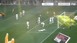 2010年J1第26節、ベガルタ仙台vsF東京戦、エリゼウのゴール