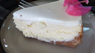 Receta De Cheesecake Tradicional -- The Frugal Chef