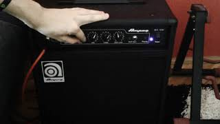Ampeg ba108 v2 Recorded on zoom q3hd