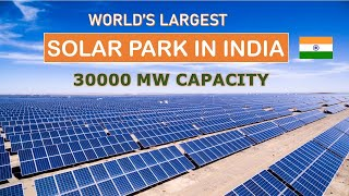 World's largest solar park in India   Power projects in India   Made in India   Papa Construction