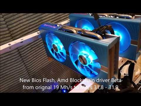 Mining Vega RX 64 Powercolo+ 2 Rx 580 Optimize Ethereum