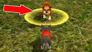 СИМУЛЯТОР Маленького КОТЕНКА #7 Кошка выросла победила собаку мультяшная игра для детей ДЕТСКИЕ ИГРЫ
