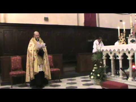 25 novembre 2012 - Festa di S. Caterina V.M. Canto dei Vespri in gregoriano JESU CORONA VIRGINUM