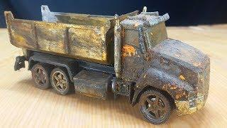 Old Dump Truck Restoration | Restoring Construction Vehicle