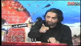 Allama Nasir Abbas Multan Majlis on 28safar1432 2/2/2011 At dandot Distt chakwal