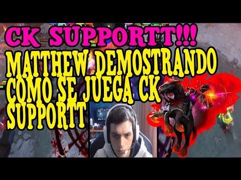 MATTHEW DEMOSTRANDO COMO SE JUEGA CK SUPPORTT