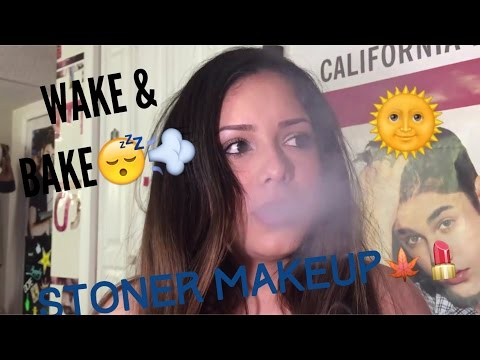 Wake & Bake, Stoner Makeup, Getting Stoned & Getting Ready Pt 1