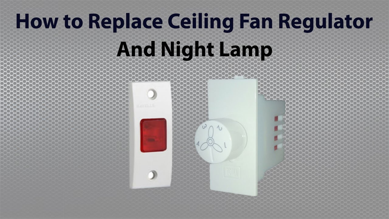 Connection Of Ceiling Fan Regulator Youtube