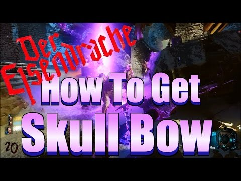BO3 Zombies - How To Get The Skull Bow And Arrow Tutorial (Purple Bow Guide)