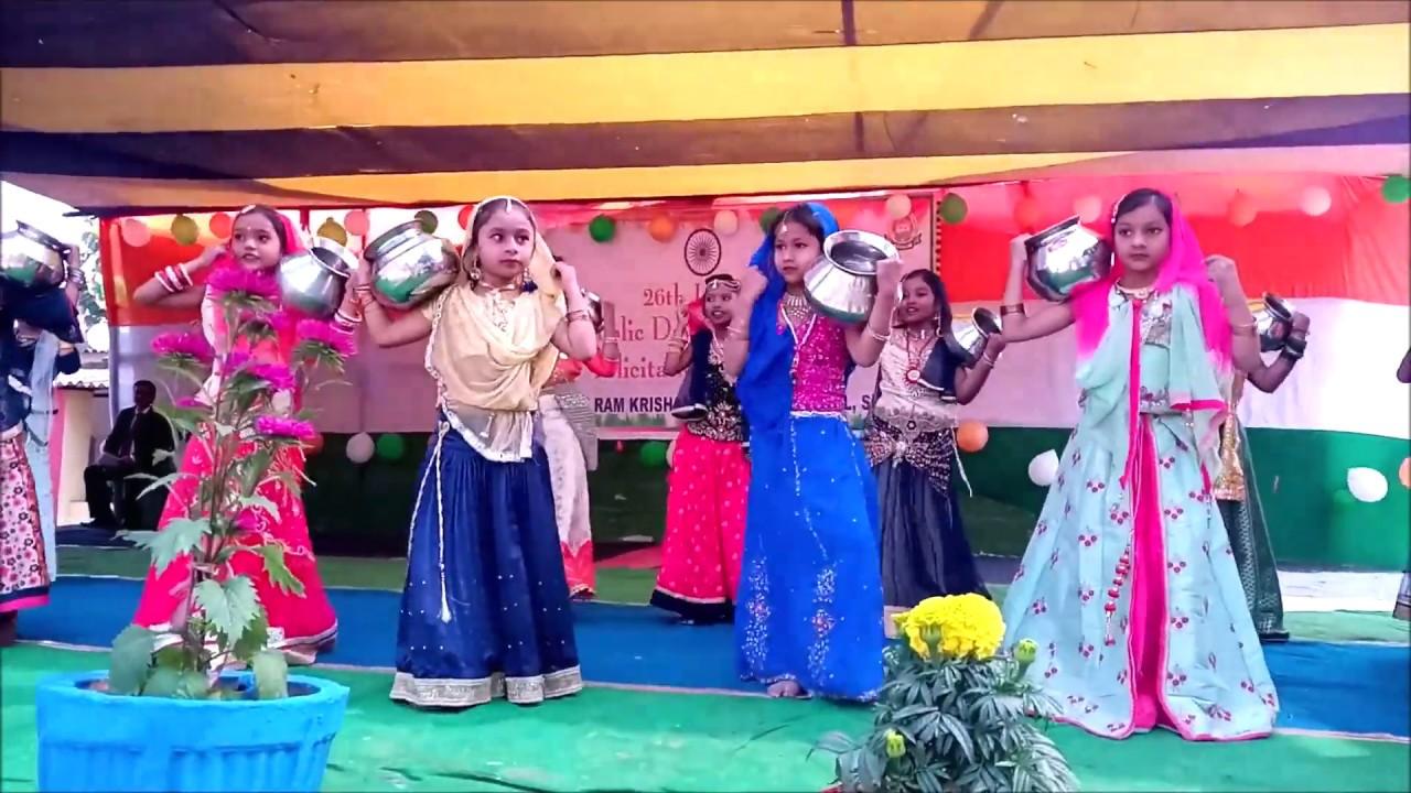 Download Maro Sona No Ghadulo Re    Dance Performance    Republic Day Celebration    Srk Dav