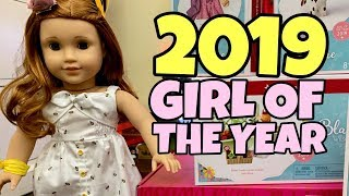 2019 Girl of the Year Reveal -  Blaire Wilson FULL SET Unboxing - American Girl Doll - GOTY