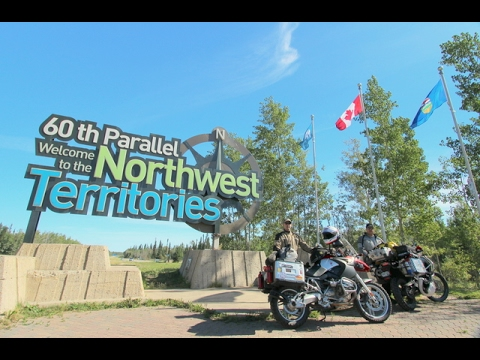 Motorcycle Adventure - Denver CO to Yellowknife NT - July 2016
