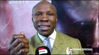 """I AM EMBARRASSED ABOUT THAT, BUT HE IS MY SON!"" CHRIS EUBANK SR ON DeGALE-EUBANK JR/GROVES & HAYMON"