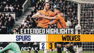 JIMENEZ COMPLETES THE TURNAROUND! | Tottenham Hotspur 2-3 Wolves | Extended highlights