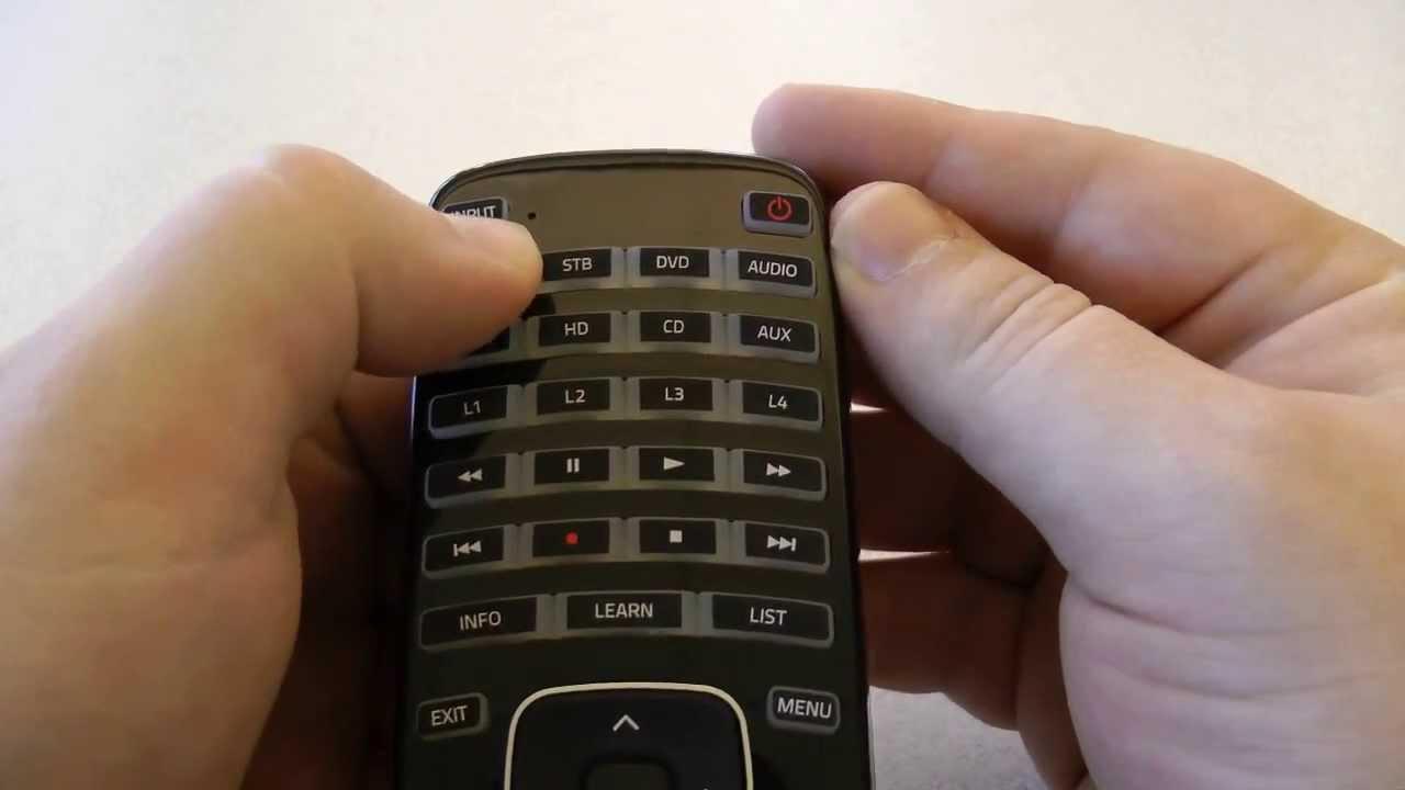 Remote Control Codes For Vizio TVs | Codes For Universal Remotes