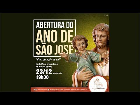 ABERTURA DO ANO DE SÃO JOSÉ