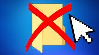 УРОК как удалить ПАПКУ с кампьютэра самому?