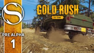 Gold Rush Pre Alpha | Gold Rush The Game Part 1