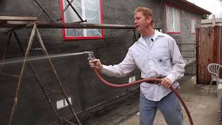 Teaching how to stucco or plaster existing wood homes, step by step