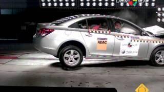 Chevrolet Cruze Crash test - Latin NCAP 2011