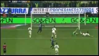 inter vs cagliari 2 2 ampia sintesi e tutti i goal highlights all gol 18 11 2012 serie a