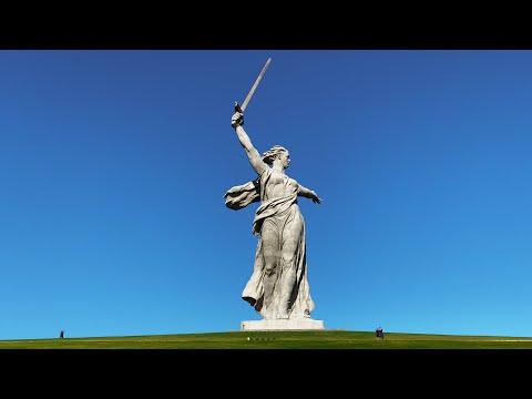 Volgograd (Stalingrad) Russia 4k  |  Mamayev Kurgan - Walking tour