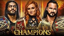 WWE CLASH OF CHAMPIONS 2020 | DREAM MATCH CARD
