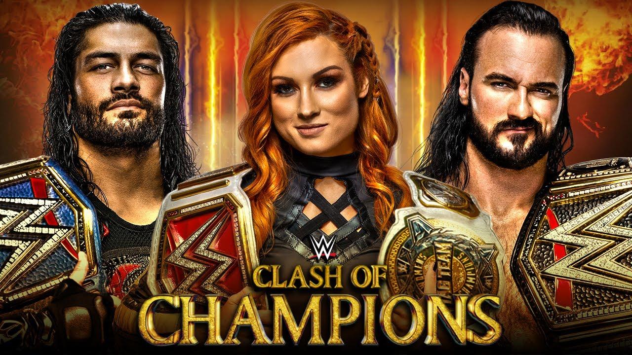 Wwe Clash Of Champions 2020 Dream Match Card Youtube