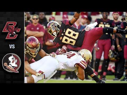 Boston College vs. Florida State Football Highlights (2018)