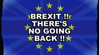 Re-Joining the EU Would be an Absurdity!