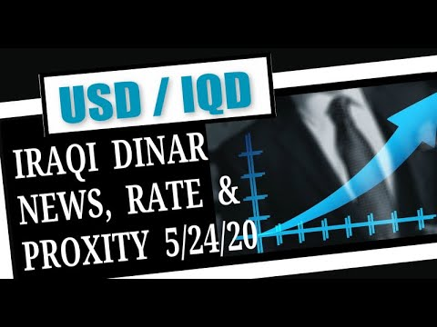 Iraqi Dinar News USD/IQD Exchange Rate Foreign Currency