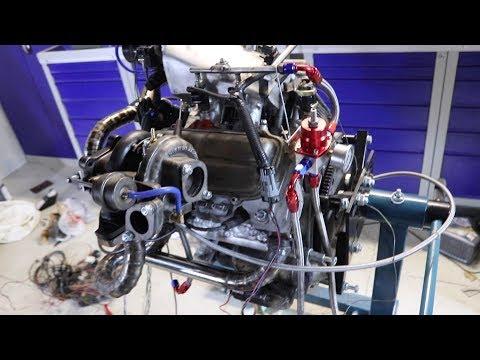 Инжекторный двигатель на Заз 968. Часть 4 (Первые звуки турбины)