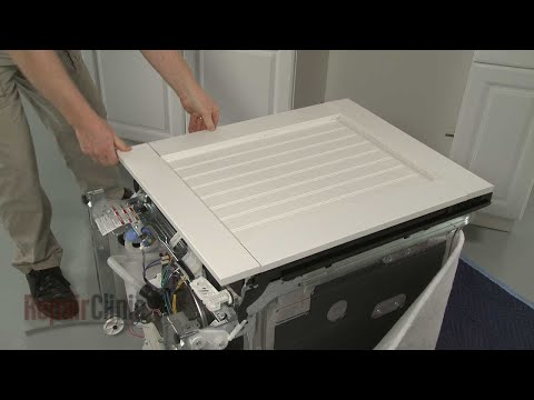 Exceptionnel Kitchenaid Dishwasher Custom Panel Installation (Model #KDTE204EPA) ...