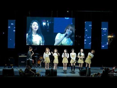 180421 오마이걸 (OH MY GIRL)  - Talk 1 (토크1) - 4K Fancam [직캠] [전체] by Sena @아하데이콘서트