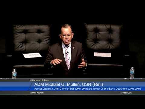 Morning Keynote Address: ADM Michael G. Mullen, USN (Ret.)