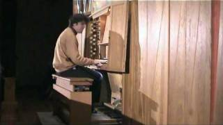 Raúl Prieto Ramírez plays on live A.G.Ritter Sonata II in Pamplona