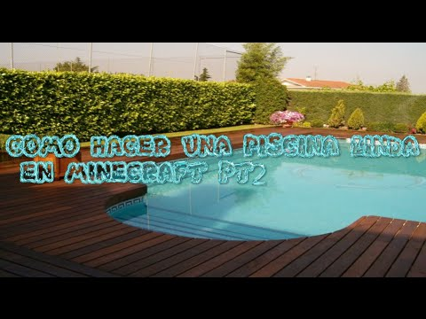 Como hacer una piscina en minecraft pt2 youtube for Como disenar una piscina