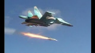 Sukhoi Su-34 Precision Bombing