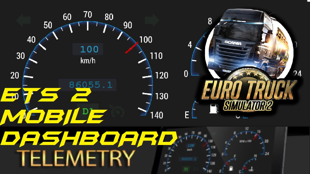ets2 mobile dashboard