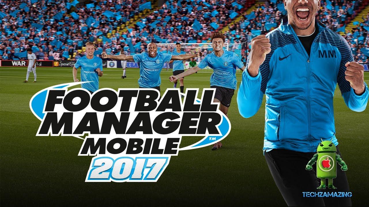 football manager mobile 2017 apk obb
