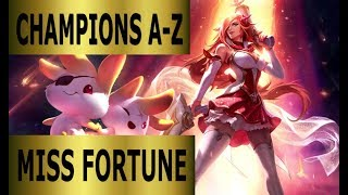 Champions A-Z Miss Fortune ADC Guide | Full Gameplay [German] League of Legends by DPoR LP