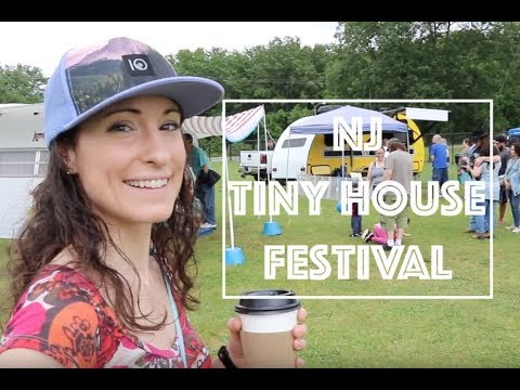 NJ TINY HOUSE Festival & Camping @ Stokes State Forest: Part 1/2- (Pwfin) Travel Vlog