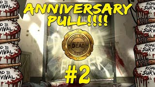 Anniversary Pull #2!!! +Team Building! The Walking Dead: Road to Survival