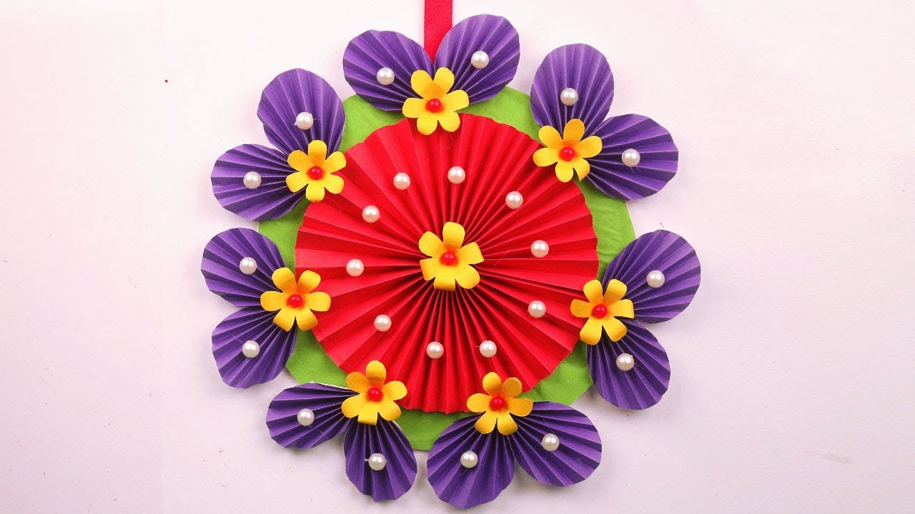 Paper Flowers Wall Decor Diy Paper Flowers Tutorial Paper