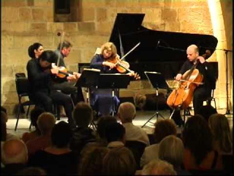 Schumann - Piano Quartet in E flat major, Op.47 - Kashimoto, Poppen, Chaushian, Wass