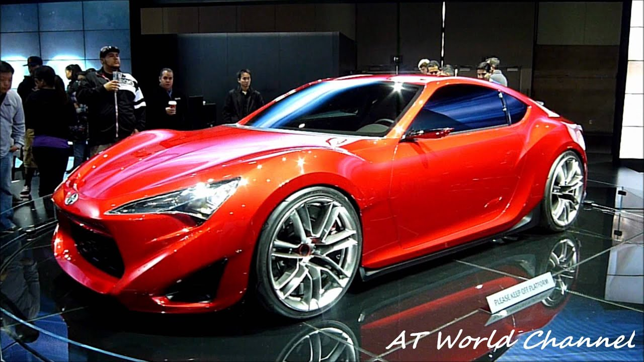 2013 Scion FR-S Concept/ Toyota GT86/ Subaru BRZ- 2011 LA ...