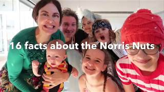 16 facts about the Norris Nuts!💓